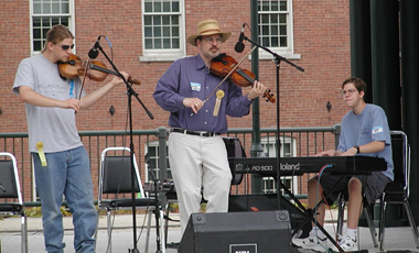 At a Fiddle Contest